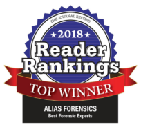 best forensic experts 2018 reader ranking award