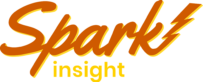 Orange and yellow Spark Insight monitoring solution logo