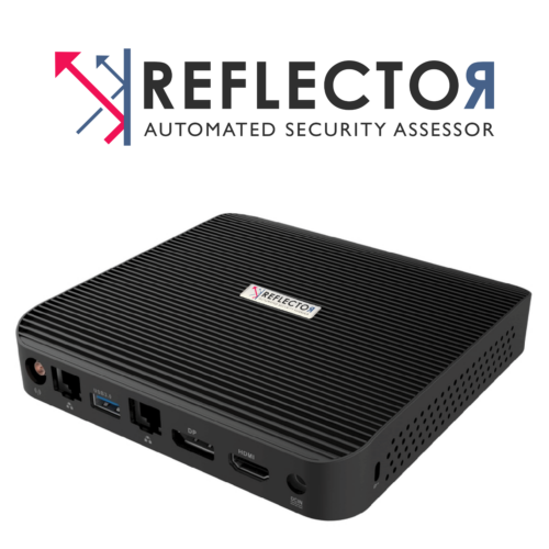 Reflector logo and box